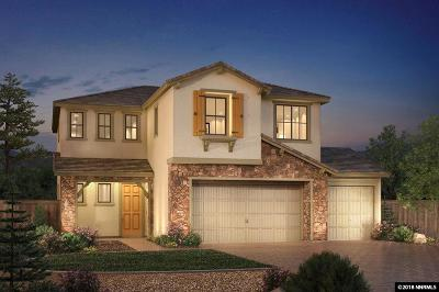 Reno Single Family Home New: 2865 Ethelinda Way #Lot 22 (