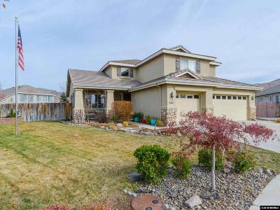 Reno Single Family Home New: 10040 Stonechase