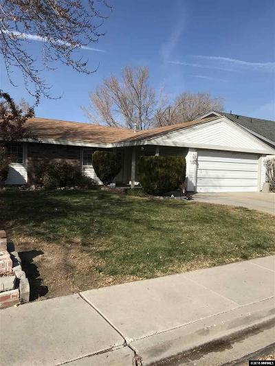 Washoe County Single Family Home New: 790 Glen Vista Drive