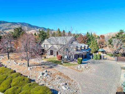 Carson City Single Family Home For Sale: 2242 Manhattan Drive