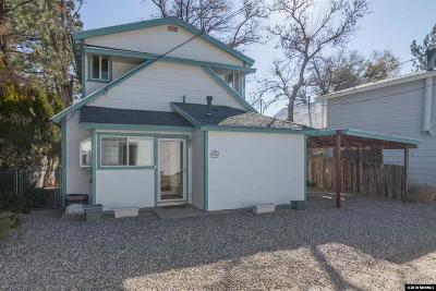 Washoe County Single Family Home For Sale: 675 Canal St