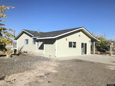 Fernley Single Family Home New: 15 Valley View Dr