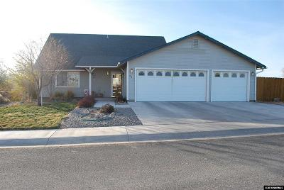 Fernley Single Family Home New: 231 Wildwood Drive