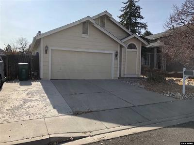 Reno Single Family Home New: 5860 Starcrest Ave