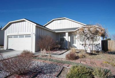Reno Single Family Home New: 9745 Silver Desert