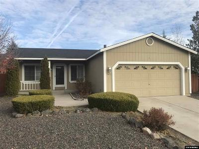 Washoe County Single Family Home New: 7471 Rodin Court