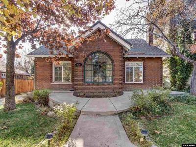 Reno Single Family Home New: 950 Walker Avenue