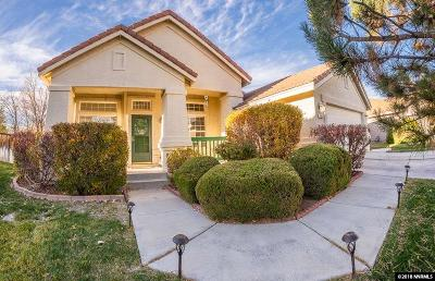 Washoe County Single Family Home New: 7881 Orbigo Ct