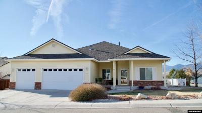 Carson City Single Family Home Price Reduced: 1001 Blue Ridge Ct.