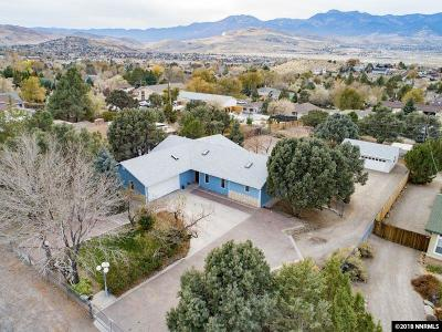 Reno Single Family Home For Sale: 14175 Virginia Foothills