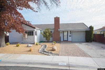 Reno Single Family Home For Sale: 750 Bowman Drive