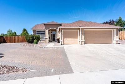 Sparks Single Family Home Active/Pending-Loan: 7905 Del Fuego Drive