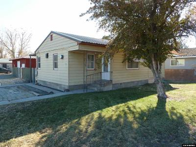 Yerington Single Family Home For Sale: 402 S West Street