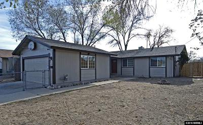 Reno Single Family Home New: 1580 Oliver Avenue