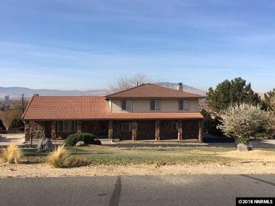 Sparks Single Family Home Active/Pending-Loan: 2565 Westview