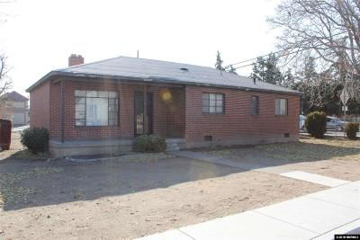 Sparks Single Family Home Active/Pending-Loan: 1657 F Street