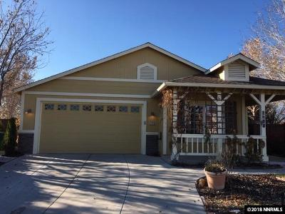 Reno, Sparks, Carson City, Gardnerville Single Family Home New: 2100 Brittany Meadows Dr