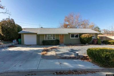 Reno Single Family Home New: 450 Palace Dr