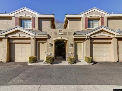 Reno Condo/Townhouse New: 900 South Meadows Parkway #1212
