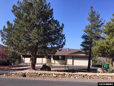 Reno, Sparks, Carson City, Gardnerville Single Family Home New: 14655 Virginia Foothills Drive
