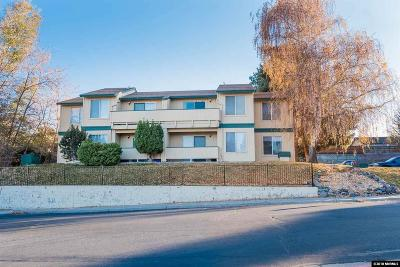Washoe County Condo/Townhouse For Sale: 3930 Clear Acre Ln #122
