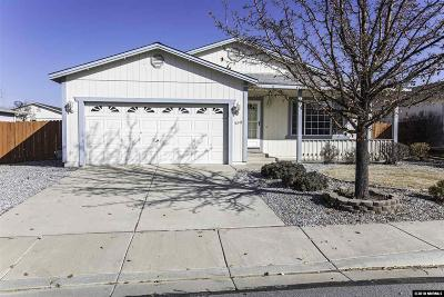 Reno Single Family Home New: 18249 Silverleaf Ct #--------