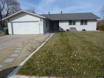 Gardnerville Single Family Home Active/Pending-Loan: 1192 Manhattan
