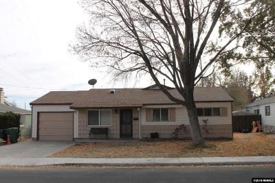 Reno, Sparks, Carson City, Gardnerville Single Family Home New: 1385 Dodson
