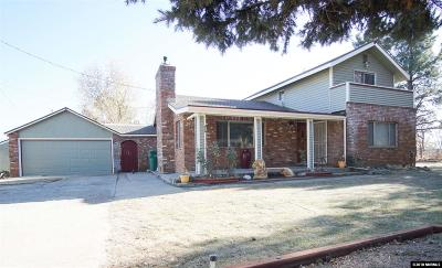 Washoe Valley Single Family Home Extended: 690 Oro Loma Rd