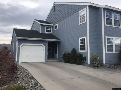 Carson City Condo/Townhouse For Sale: 3101 Chubasco Way