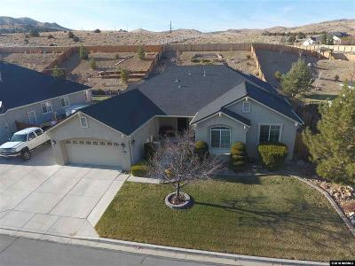 Sparks Single Family Home For Sale: 1349 Fuggles Drive