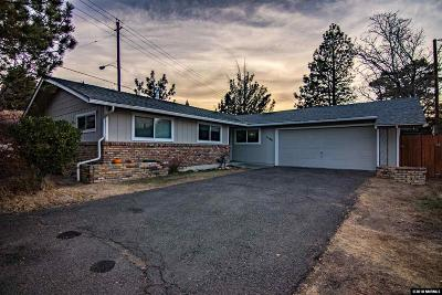 Washoe County Single Family Home For Sale: 1185 Lyman Ave