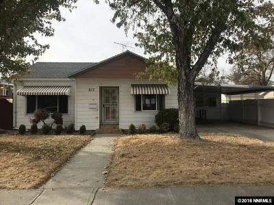 Sparks Single Family Home Price Reduced: 817 19th