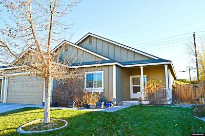 Fernley Single Family Home Active/Pending-Loan: 668 Canary Circle
