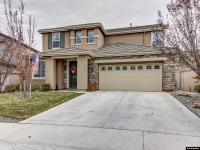 Reno Single Family Home For Sale: 10812 Pebble Hill Drive