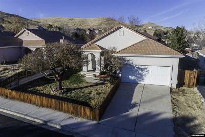 Sparks Single Family Home For Sale: 125 Spring Ridge Dr