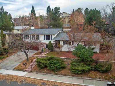 Reno Single Family Home For Sale: 3870 Heavenly Valley Lane