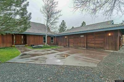 Washoe County Single Family Home For Sale: 105 Hansen
