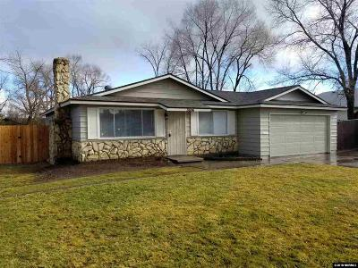 Carson City Single Family Home For Sale: 3606 Woodside Dr.