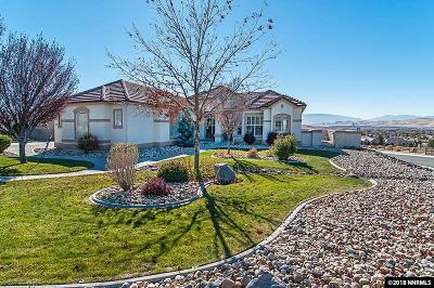 Sparks Single Family Home For Sale: 3990 Desert Fox