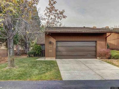 Reno Condo/Townhouse For Sale: 2109 Chicory Way