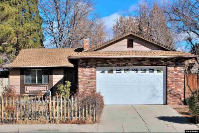Sparks NV Single Family Home Back On Market: $342,500