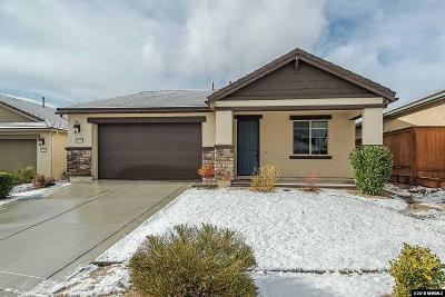 Washoe County Single Family Home Active/Pending-Loan: 1595 Heavenly View Trail