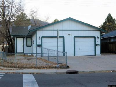 Carson City Multi Family Home For Sale: 3500 Imperial Way