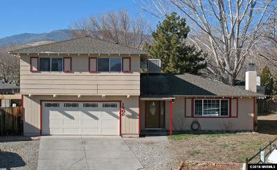 Carson City Single Family Home For Sale: 1500 Appaloosa Ct