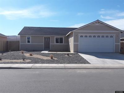 Fernley Single Family Home For Sale: 1835 Hickory