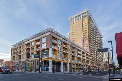 Washoe County Condo/Townhouse For Sale: 255 N Sierra St. #321