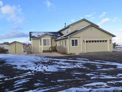 Reno Single Family Home Active/Pending-Loan: 5455 Mountain Ranch Road