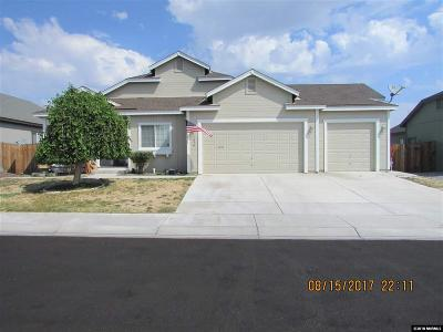 Fernley Single Family Home For Sale: 1070 Aster Lane