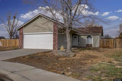 Gardnerville Single Family Home Active/Pending-House: 701 Joette